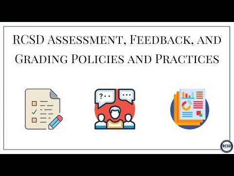 RCSD Middle School Grading Policies and Practices Video